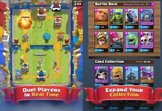Game Clash Royale penerus Coc