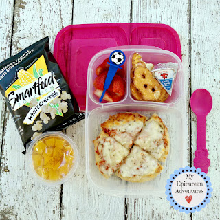 My Epicurean Adventures: Lunch Box Fun 2015-16: Weeks #23-28. Lunch box ideas, school lunch ideas, lunches, pizza