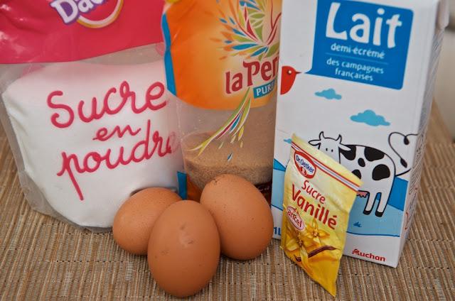 Œufs au lait - Dessert - Cuisine - Cooking - Cook - Milk - Œufs - Food - Recette Œufs au lait
