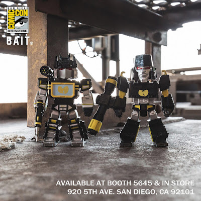"San Diego Comic-Con 2018 Exclusive Wu-Tang x Transformers 4.5"" Vinyl Figures by BAIT"