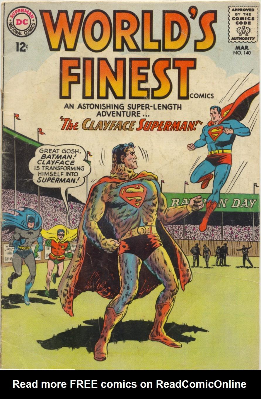 Read online World's Finest Comics comic -  Issue #140 - 1