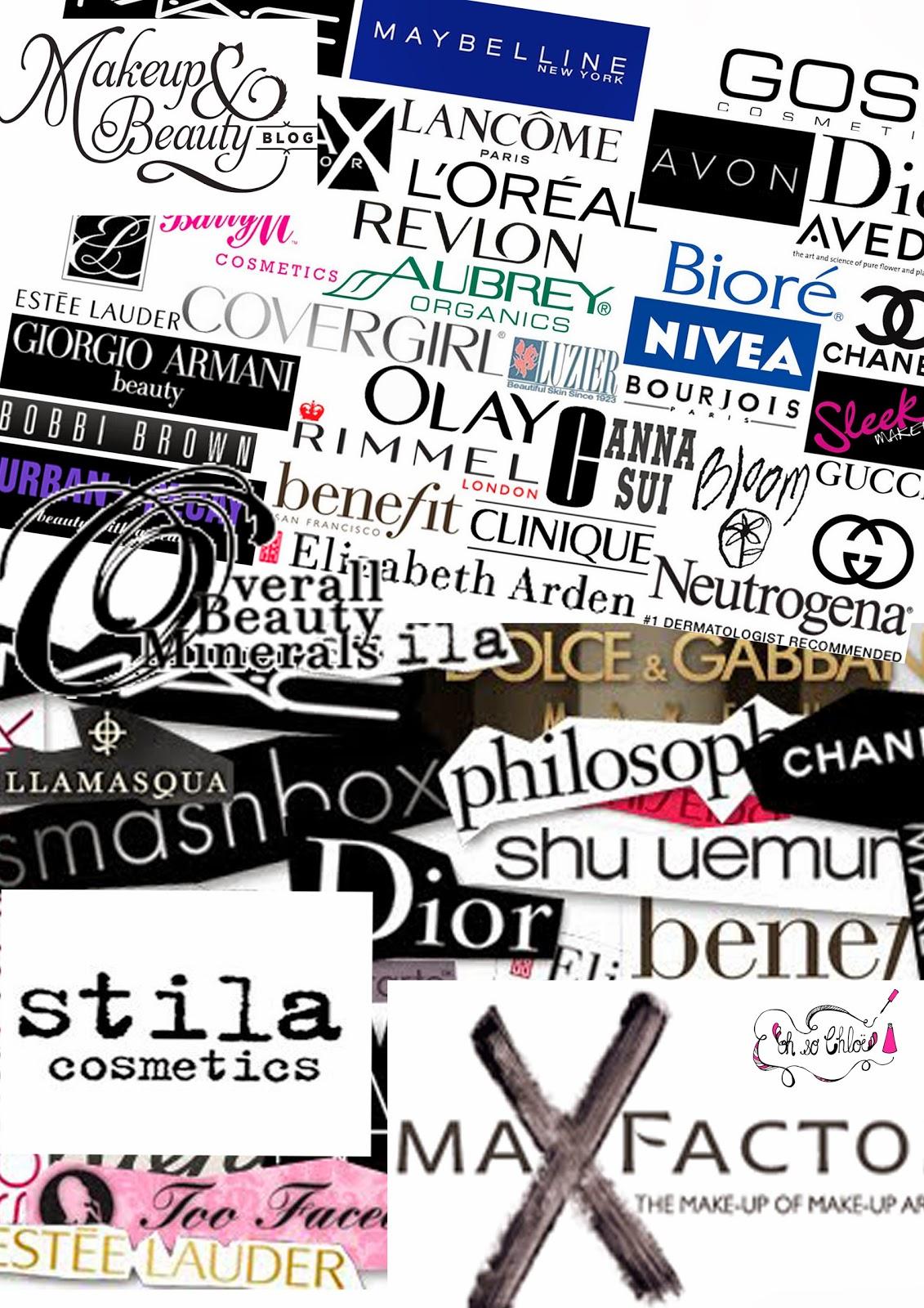 Top 16 Makeup Brands and Their Company Logos ...  Leading Makeup Brand Logo