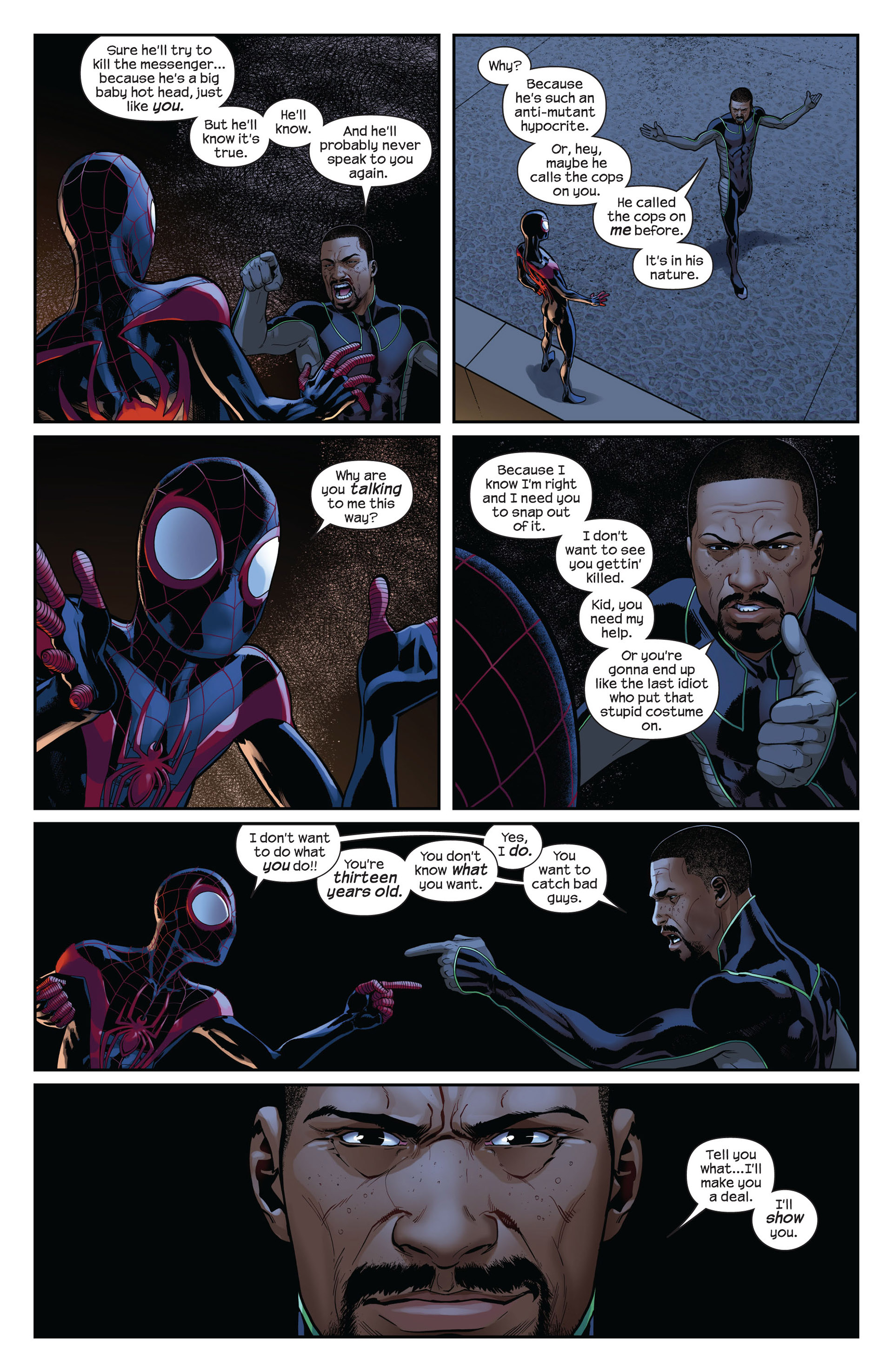 Read online Ultimate Comics Spider-Man (2011) comic -  Issue #10 - 13