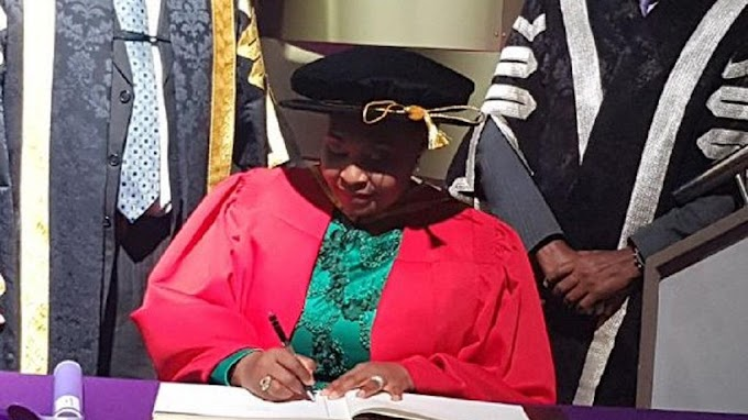 Photos: African music icon Yvonne Chaka Chaka bags honorary degree