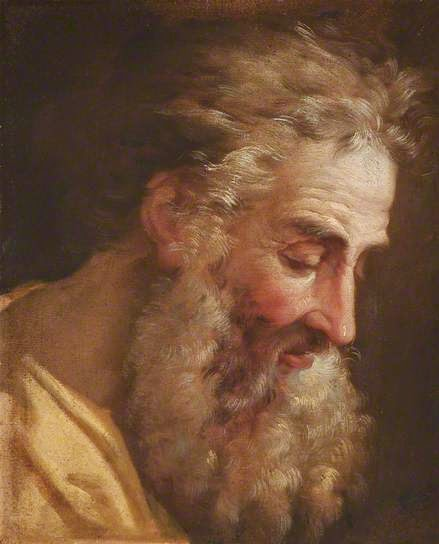 Study of the Head of an Old Bearded Man