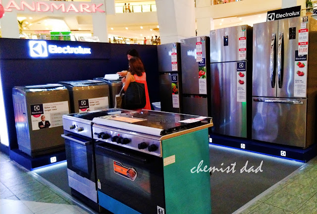 Appliance expo, Anson's, Appliances, Trinoma, refrigerators, gas range