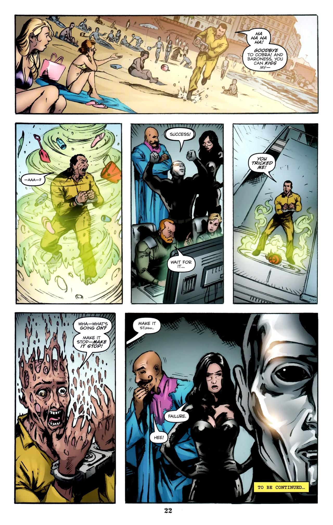G I Joe 2008 Issue 11 Viewcomic Reading Comics Online For