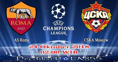 Prediksi Bola855 AS Roma vs CSKA Moscow 24 Oktober 2018