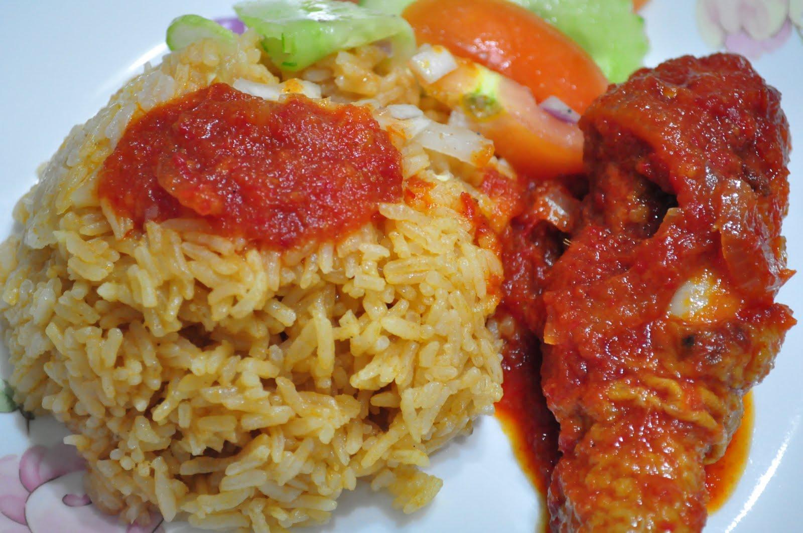 Inilar Resepi Nasi Tomato Ayam Masak Merah Yang Enak Dan Lezat Aneka Resepi Nasi