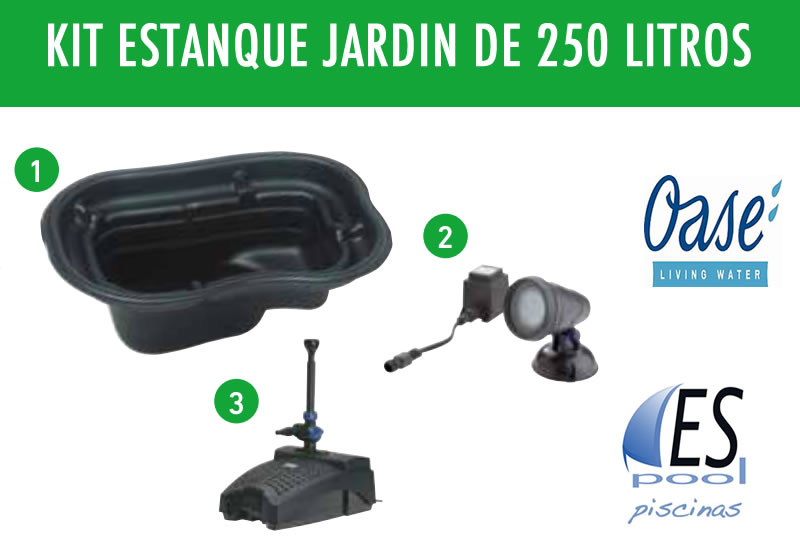 Dr espool blog de espool piscinas ideas para hacer un for Kit estanque jardin