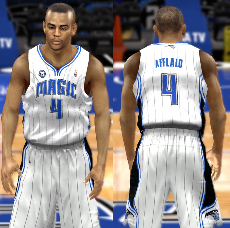 ORG A full set of modded NBA 2K14 jerseys for the Orlando Magic. bf892d738