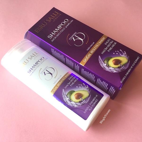 ebru şallı by thalia avokado yağlı hacim verici şampuan yağlı saçlar 1