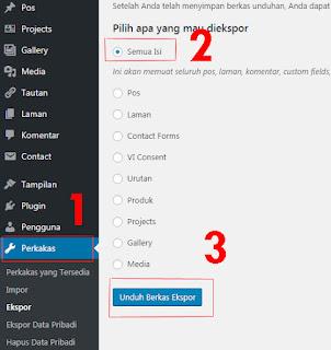 Cara pindah artikel wordpress ke blogspot bagian pertama