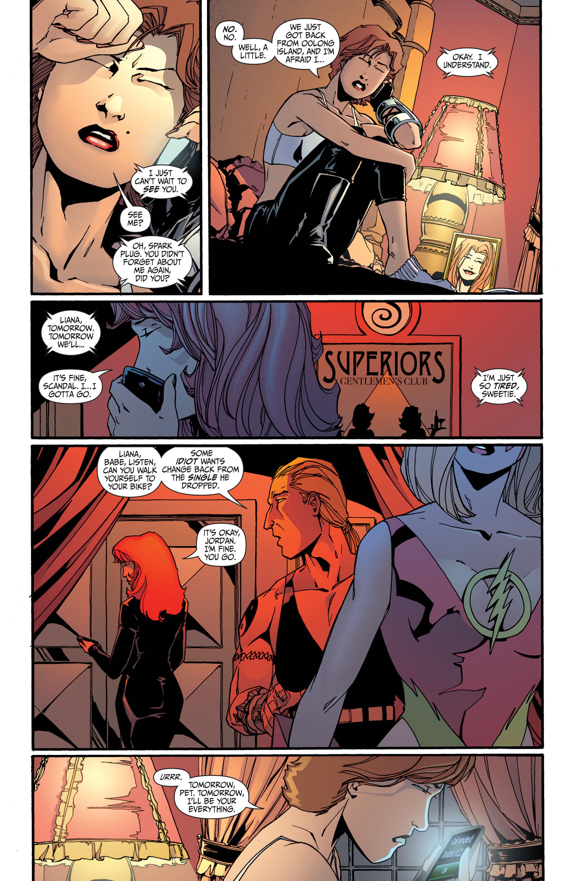 Read online Secret Six (2008) comic -  Issue #31 - 8