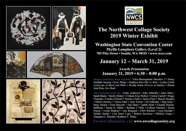 Northwest Collage Society Winter 2019 Show