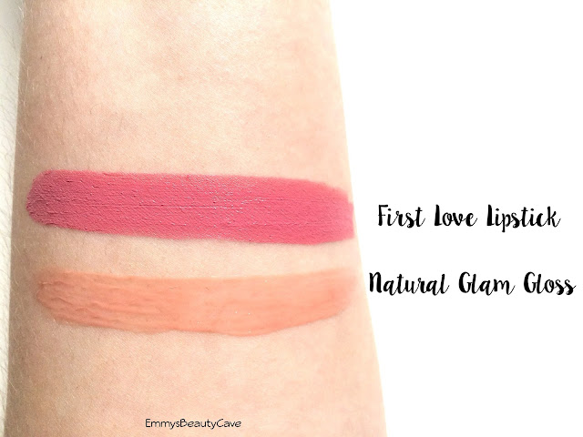 Benecos Natural Lipstick First Love Swatch