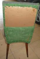krzesło patyczak renowacja