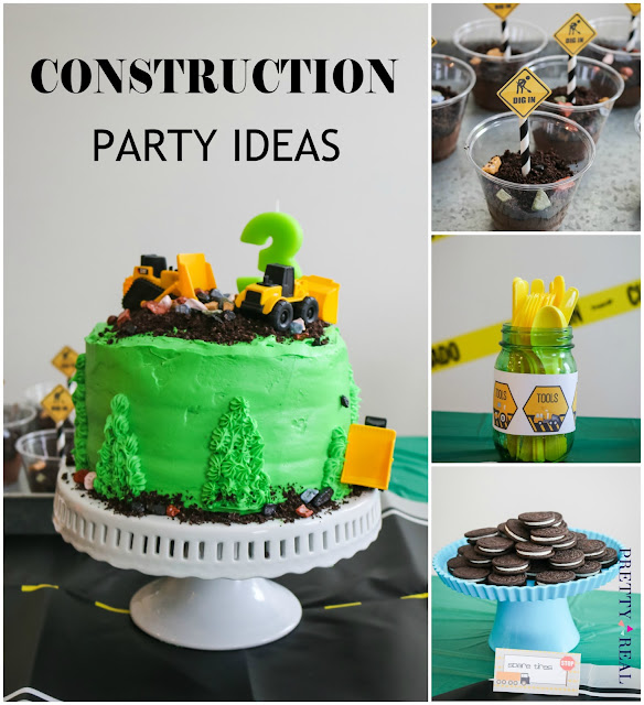 Construction theme birthday party snack ideas