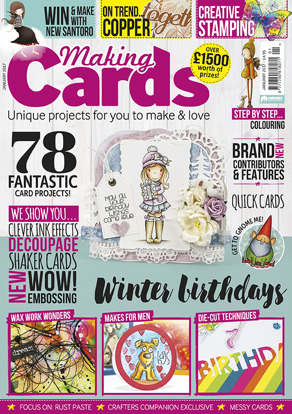 Delightful Making Cards Magazine Part - 9: Making Cards Magazine January Edition