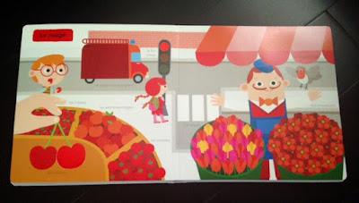 Mon imagier des couleurs à toucher - Editions MILAN