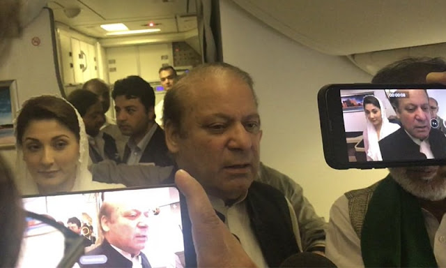 Breaking News: Nawaz, Maryam Taken Into NAB Custody, Off To Islamabad