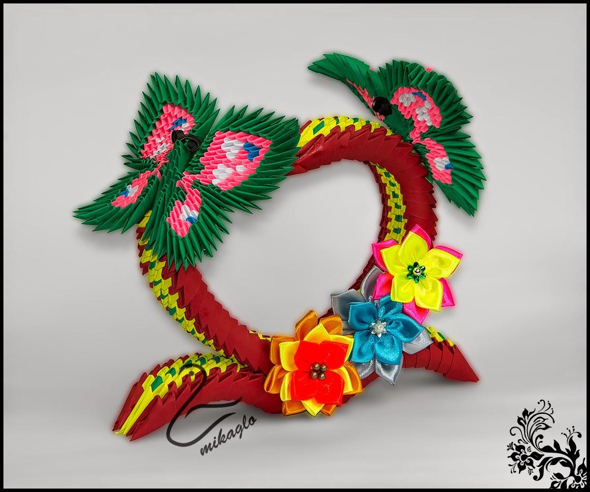 Origami 3d - mikaglo: 75. Serce dla Mamy z origami / 3d ... - photo#15