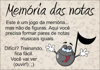 Memória das notas