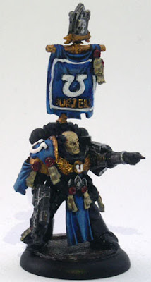 Deathwatch RPG Ultramarine Miniature Conversion Sculpting greenstuff 40k