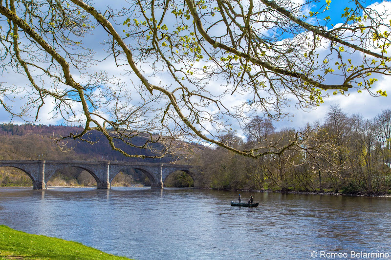 Dunkeld Bridge Scottish Highlands Road Trip Itinerary