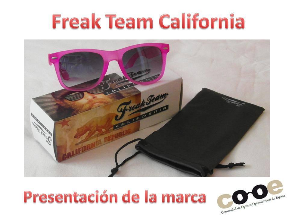 d40d42cbb7 Pedido conjunto de gafas de sol Freak Team: muy divertidas y coloridas y  con una relación calidad-precio excelente