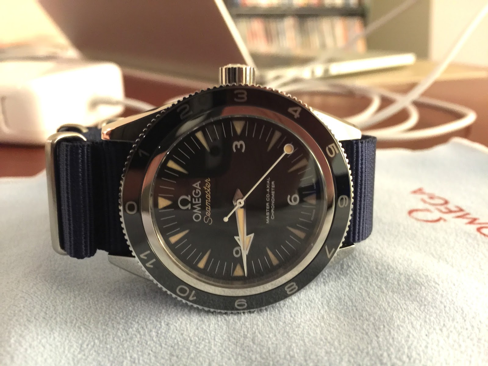85f0639dca5 Omega Seamaster 300 SPECTRE Limited Edition