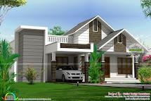 Single Slope Roof Home Design