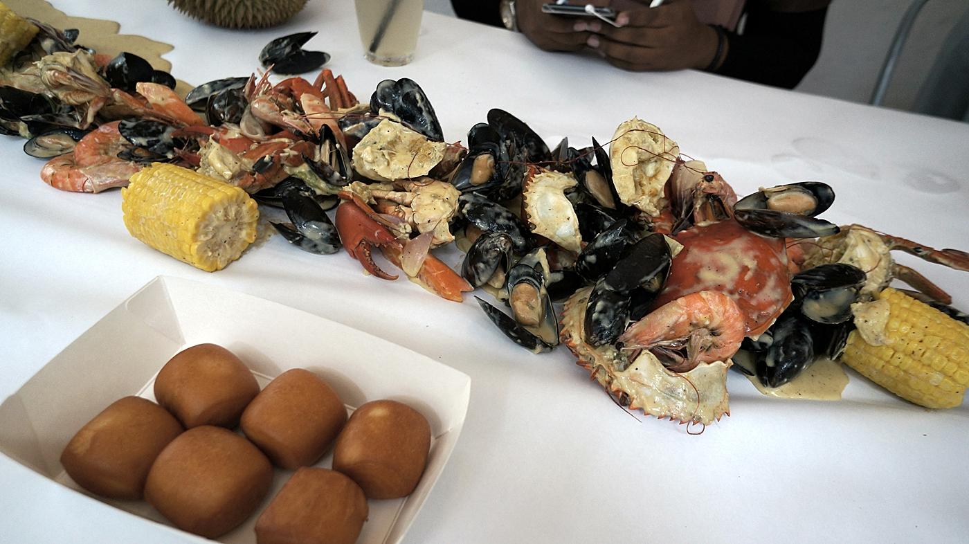 Just Seafood Sunway Giza Yang Memukau Seafood Terbaik Dboystudio