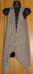 DIY: Chaleco asimétrico (sin necesidad de coser)