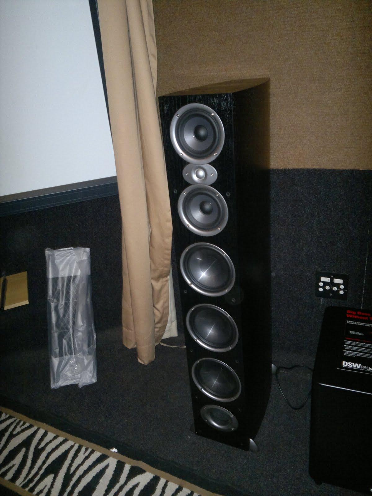 Polk Audio RTi A9 Cherry Wood Veneer