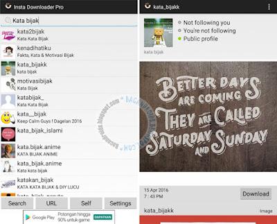 Cara Termudah Download atau Nyimpan Foto instagram App