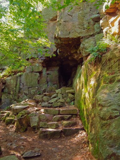 Cave on East Bluff Trail - Devil's Lake State Park - Baraboo WI