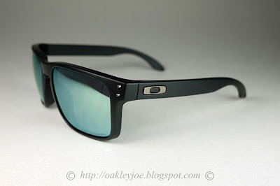 Oakley Holbrook (a) Matte Black Ink/emerald Irid - 2017 - Unique 4lVoz