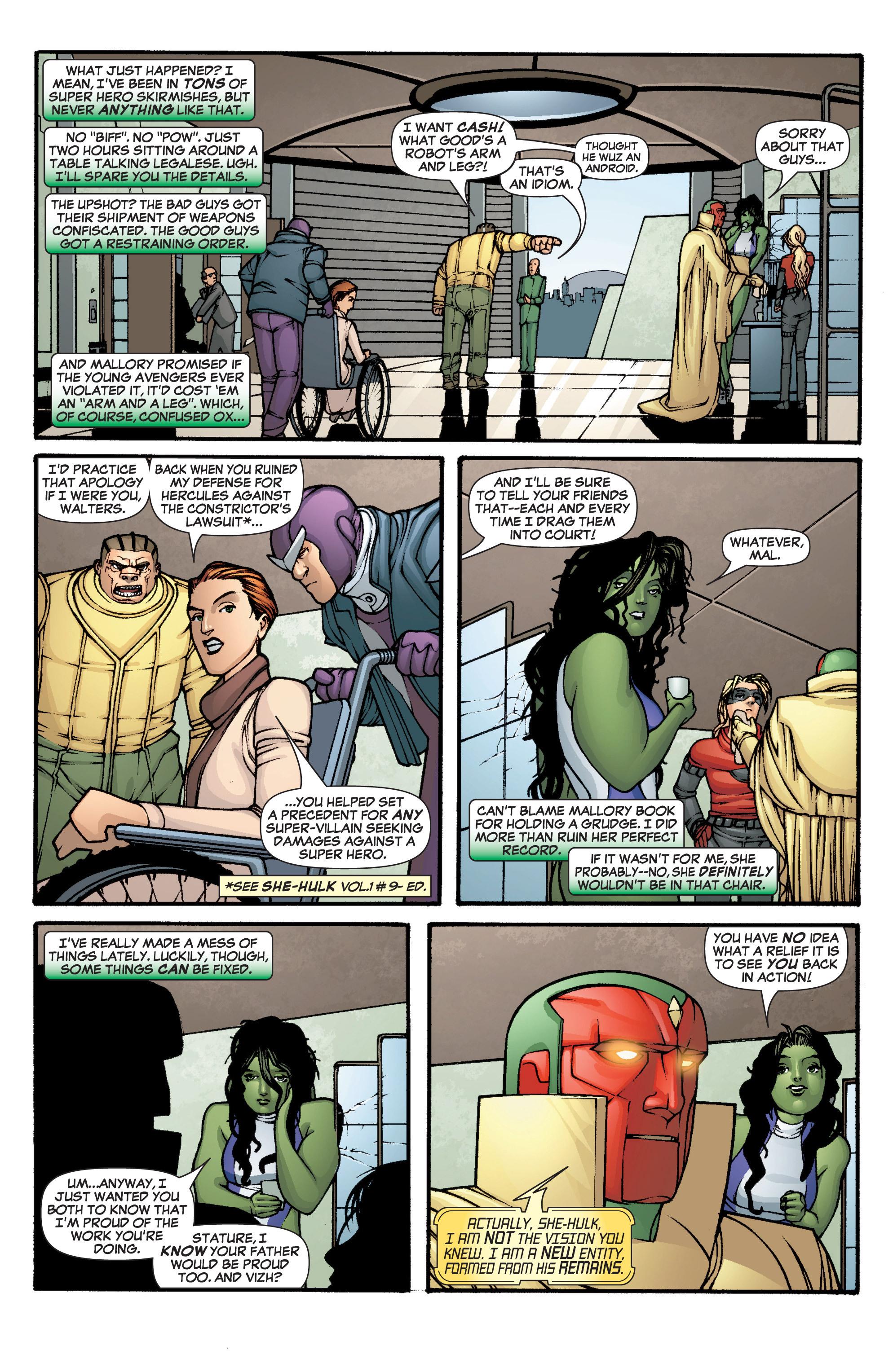 Read online She-Hulk (2005) comic -  Issue #1 - 16
