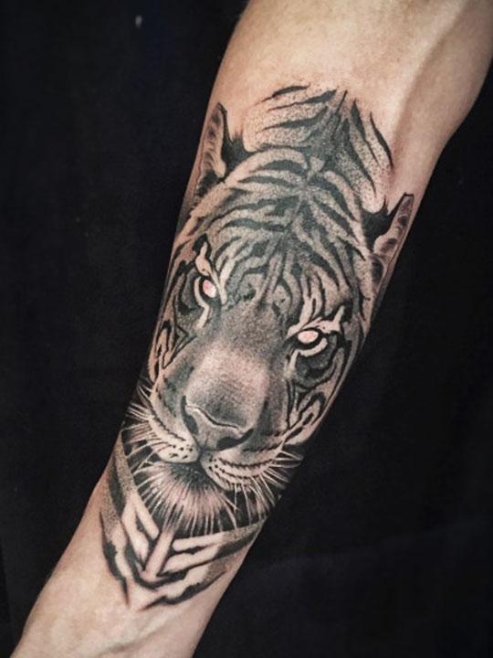 Tattoos on hand