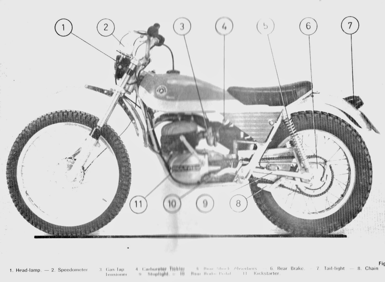When the Alpina was introduced in 1971 as a playbike version of Bultaco's  championship trials bike the Sherpa T, it was described as a trials bike  with ...