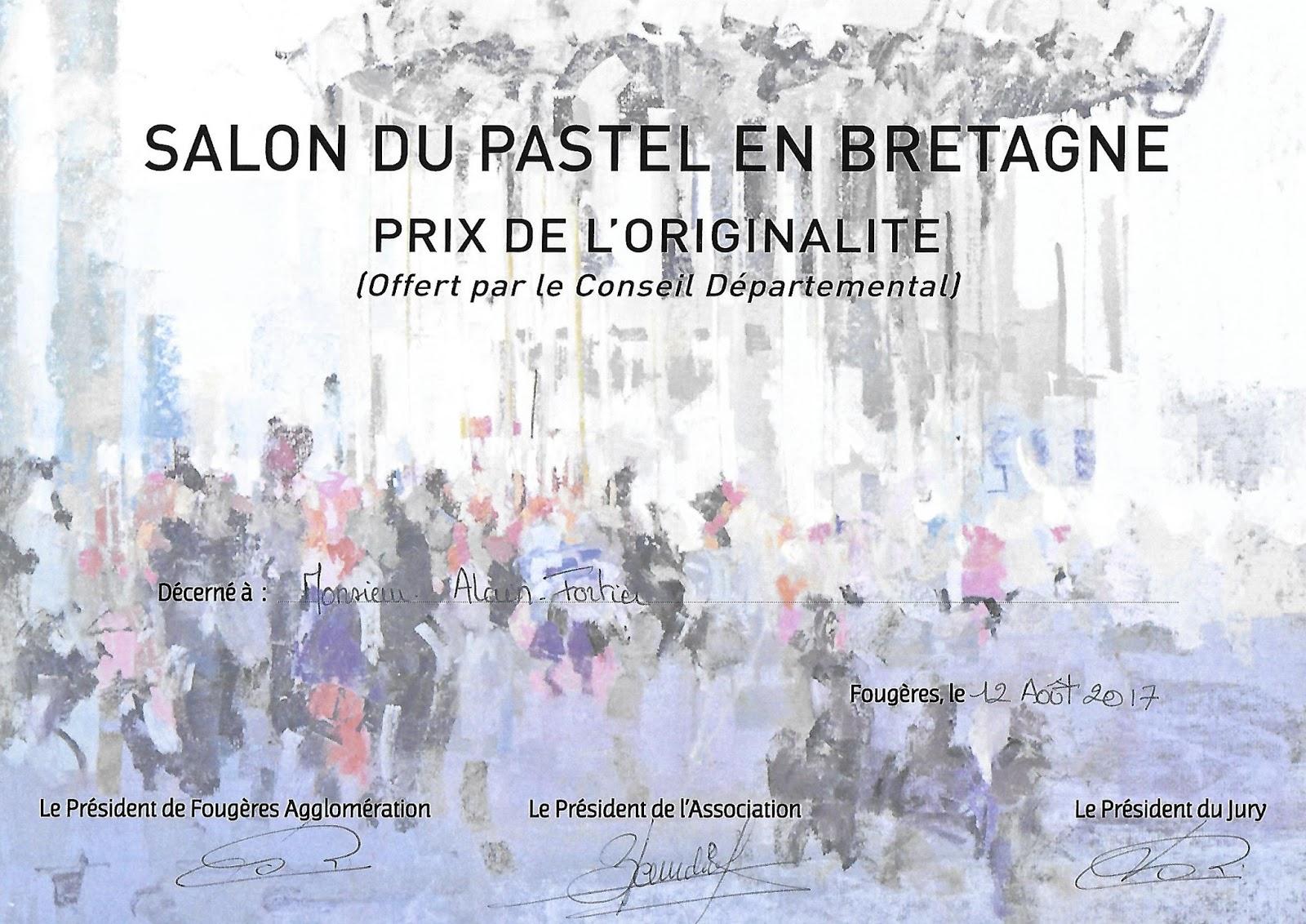L 39 autre atelier de la petite mer pastels salon pastel for Salon du chiot 2017 bretagne