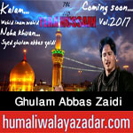 http://www.humaliwalayazadar.com/2017/09/syed-ghulam-abbas-zaidi-nohay-2018.html