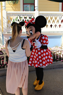 Meeting Minnie Mouse