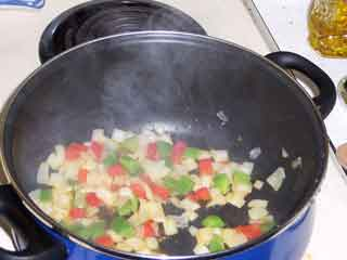 Cook up the veggies