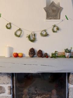 DIY: Guirnalda rústica navideña. www.soyunmix.com