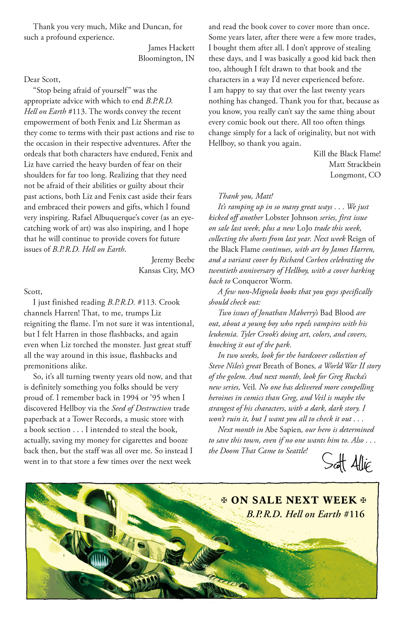 Read online Abe Sapien comic -  Issue #10 - 28