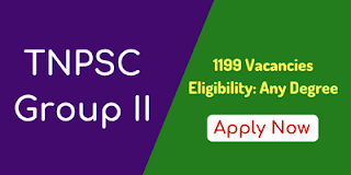 TNPSC Recruitment Group 2 2018