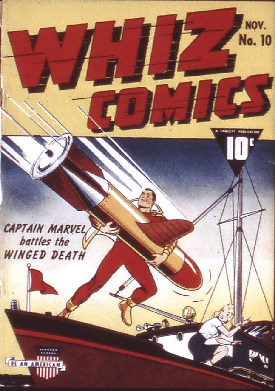 WHIZ Comics 10 Page 1