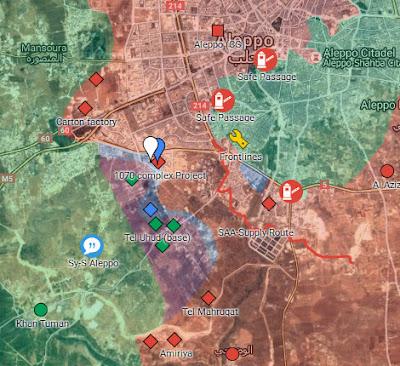 Mujahidin pertahankan Komplek Apartemen 1070 Aleppo
